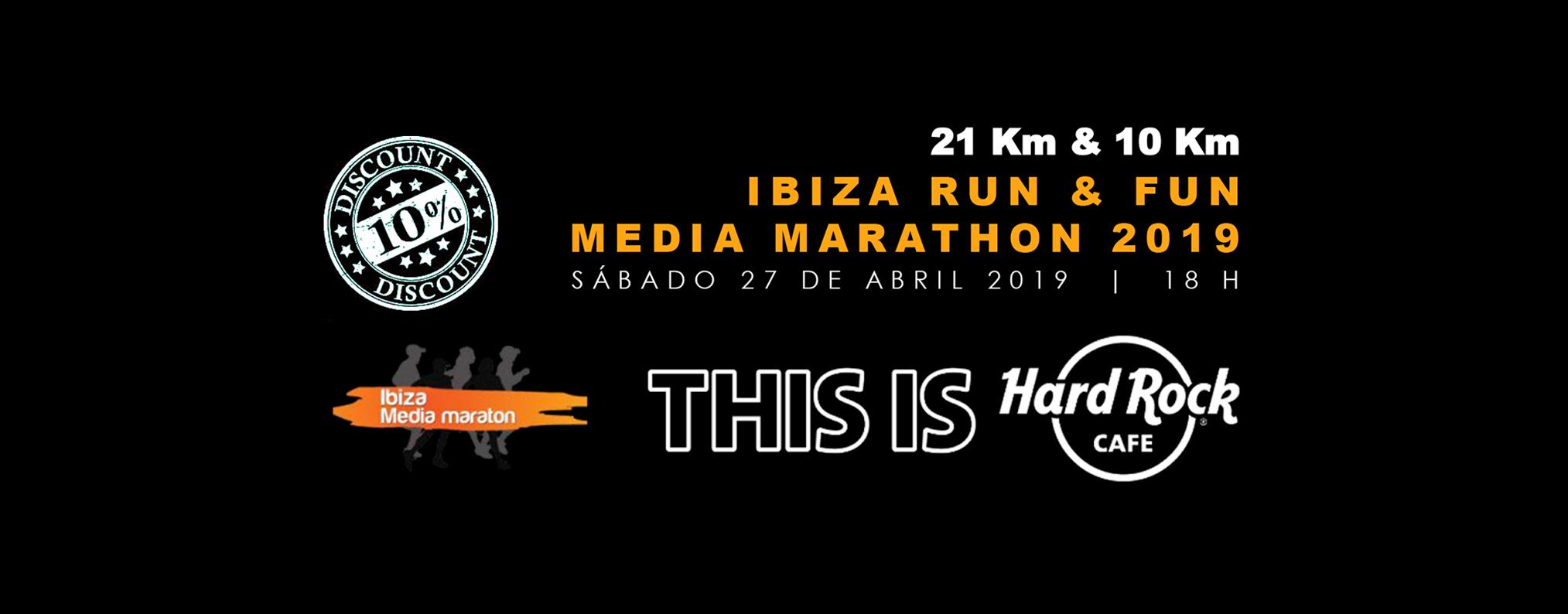 """Hard Rock Café Ibiza Colaborador Oficial De La Prueba Premiará A Los Campeones Locales Tanto De La Ibiza Media Maratón Como En El 10k """"Isla De Ibiza"""""""