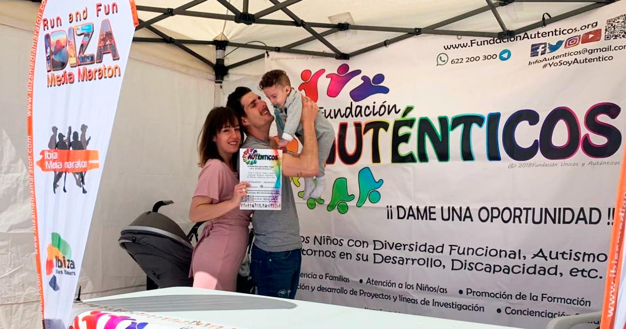 La Ibiza Media Maratón Se Vuelca Con Jerome Y Con El Síndrome KAT6A