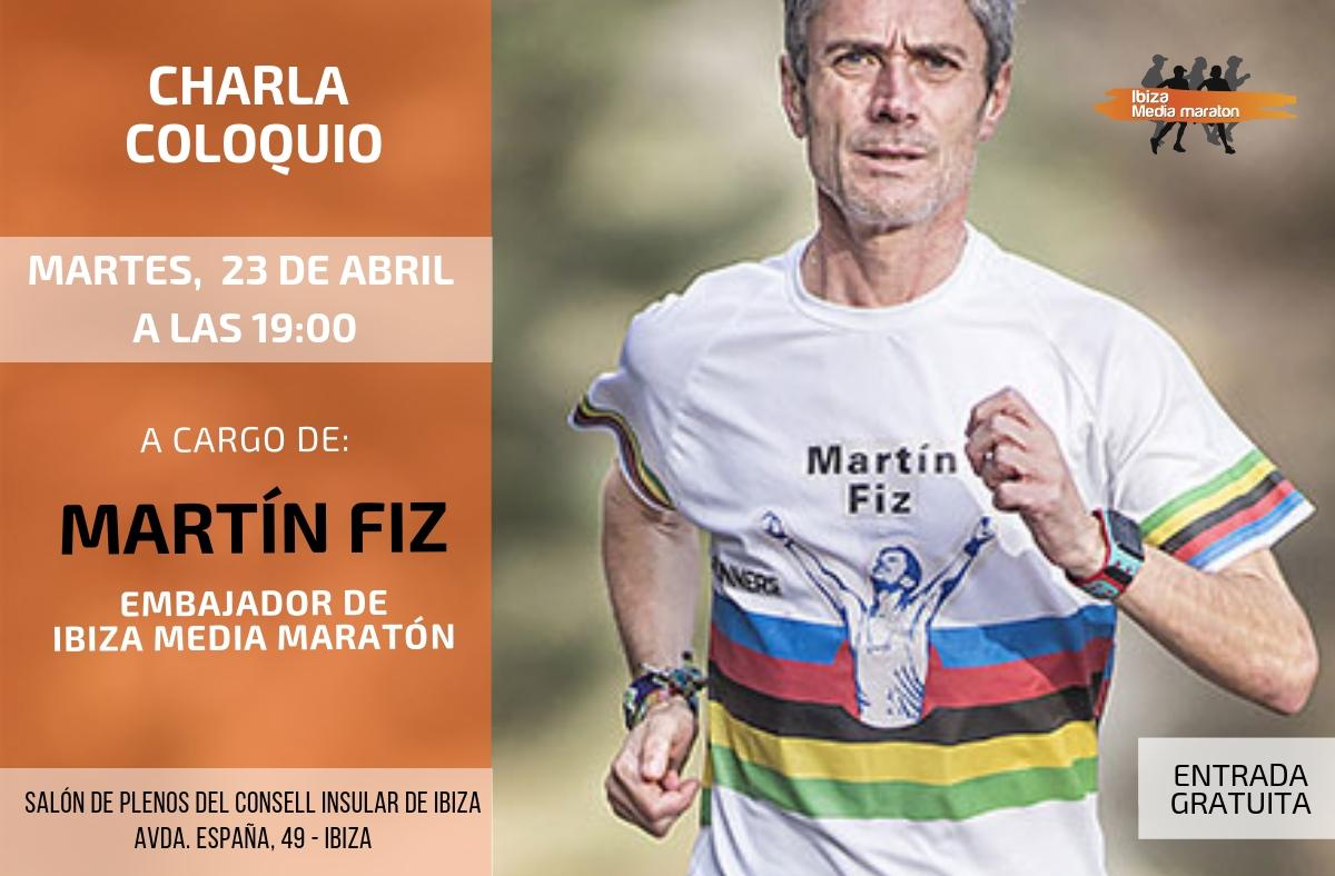 Martín Fiz Embajador De La Ibiza Media Maratón 2019