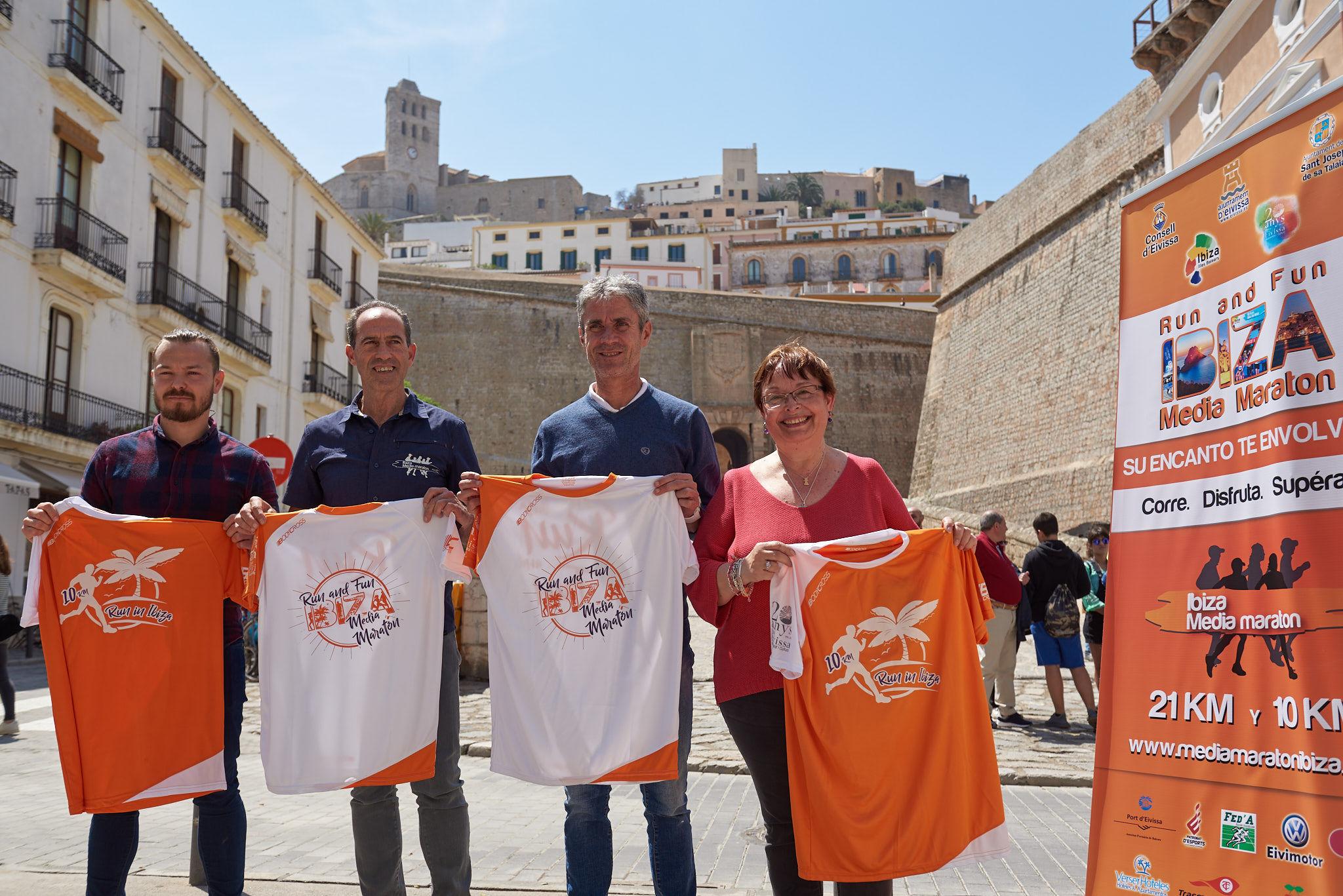 Martín Fiz Presenta Oficialmente La Séptima Edición De La Ibiza Media Maratón